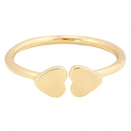 Musthave rings hearts Gold