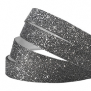 Crystal glitter tape 5mm Dark grey
