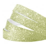 Crystal glitter tape 5mm Light green