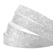 Crystal glitter tape 5mm Silver