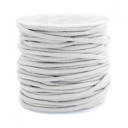 Coloured elastic cord 2.5mm Beige grey
