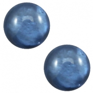 12mm classic cabochon Polaris Elements pearl shine Night blue