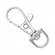 Keychains 38mm Antique silver