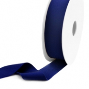 Elastic Ibiza Ribbon 25mm Dark Blue