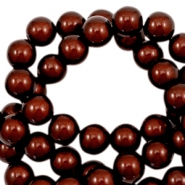 Miracle 3D beads 6mm Dark Brown