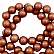 Miracle 3D beads 10mm Amber Brown