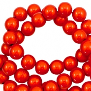 Miracle 3D beads 12mm Electric Orange