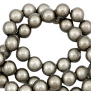 Miracle 3D beads 4mm Grey Taupe