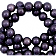 Miracle 3D beads 12mm Dark Lilac Purple