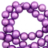 Miracle 3D beads 6mm Lavender Purple