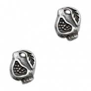 Charms TQ metal pomegranate Antique Silver