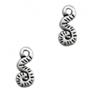 Charms TQ metal snake Antique Silver