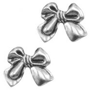 Findings TQ metal bow Antique Silver