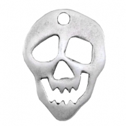 Charms TQ metal skull Antique Silver