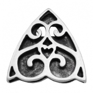Findings TQ metal slider Baroque Antique Silver