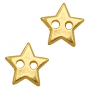 DQ metal findings connector star Gold (nickel free)