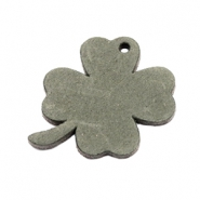 DQ leather charms clover medium Dark Olive Green