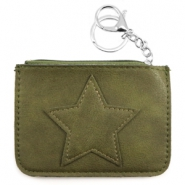Trendy wallets Army Green