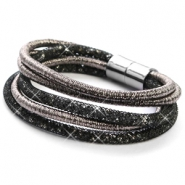 Bracelets sparkle & shine Anthracite-Black