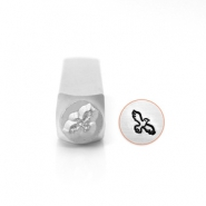 ImpressArt design stamps bird 6mm Silver