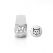 ImpressArt design stamps fox 6mm Silver
