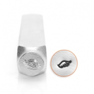 ImpressArt design stamps wing right 6mm Silver