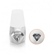 ImpressArt design stamps diamond 6mm Silver