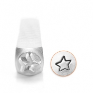 ImpressArt design stamps star 3mm Silver