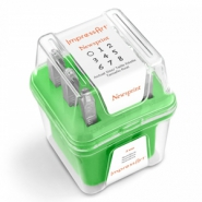 ImpressArt Newsprint number stamps set 3mm Green