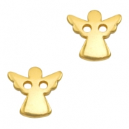 DQ metal charms connector angel Gold (Nickel Free)