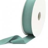 Elastic Ibiza Ribbon 25mm Vintage Green