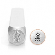 ImpressArt design stamps baby 6mm Silver