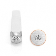 ImpressArt design stamps flourish baroque style 3mm Silver