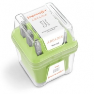 ImpressArt Arcadia number stamps set 3mm Green
