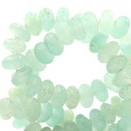 4 mm natural stone beads disc Light Turquoise Green