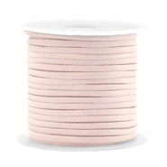 Trendy flat cord silk style 2mm Velvet Rose