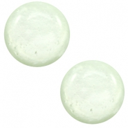 7 mm classic Polaris Elements cabochon Mosso shiny Relaxing Green