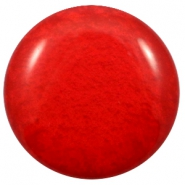 35 mm classic Polaris Elements cabochon Mosso shiny Candy Red