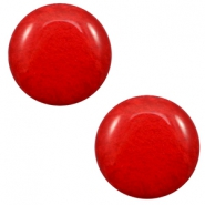 12 mm classic Polaris Elements cabochon Mosso shiny Candy Red