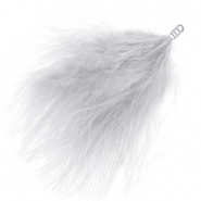 Feathers plush Mineral Grey