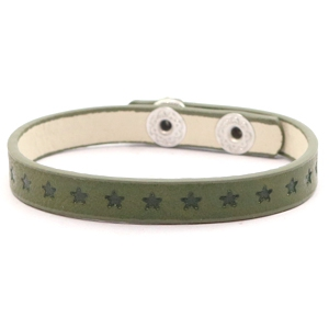 Ready-made bracelets stars Dark Green