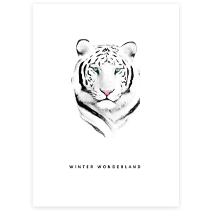 "Jewellery cards ""Winter Wonderland"" White"