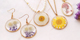 New in the collection! Dried flower charms