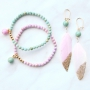 Stylish jewellery in happy colours with jade beads