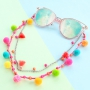 Summer special! Wonderful Pompom charms in the best colours