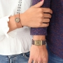 His and hers! Designer Quality leather bracelets for men and women
