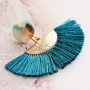 Trendy fringe earrings with new tassels according to the latest trends!