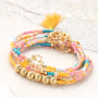 Create summer bracelets with our brand new collection glass seed beads