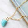 Learn how to make jewellery with natural stone pendants
