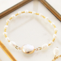 Summer jewellery with freshwater pearls nugget